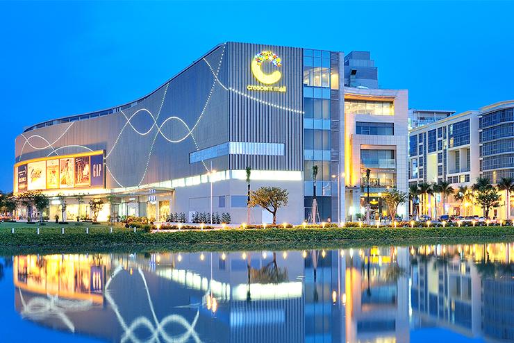 trung tâm thương mại crescent mall quận 7